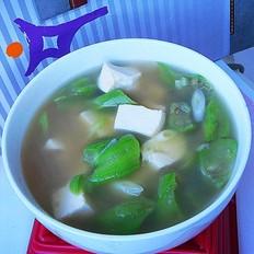 豆腐丝瓜汤