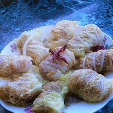 虾仁白菜卷