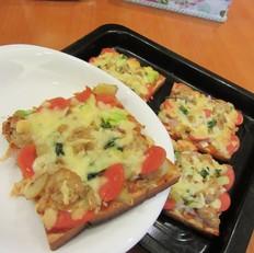 香酥土司披萨
