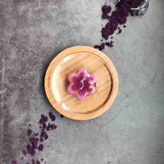 紫薯牛奶冻