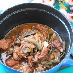 排骨炖豆芽月子杰菜谱v排骨美食能吃干贝和香菇图片