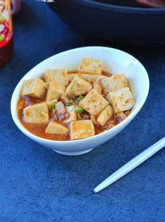 肉丁烩豆腐#夜宵#的做法