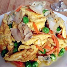 文蛤炒鸡蛋