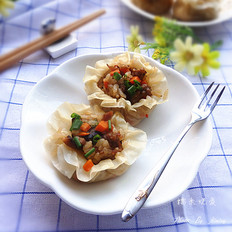 香菇糯米烧麦