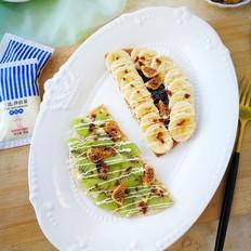 #丘比沙拉酱#水果沙拉松饼