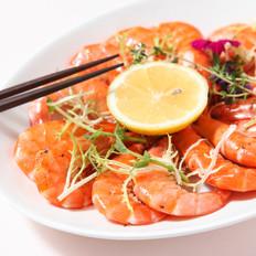 百里香蒸烤鲜虾