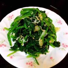 韩式拌菠菜