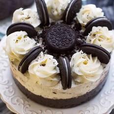 奥利奥双层巧克力奶油冰激凌蛋糕(6寸)