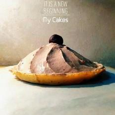 【我的蒸蛋糕】意料之外的巧克力奶油苹果蛋糕