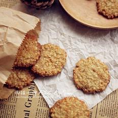 椰蓉燕麦饼干