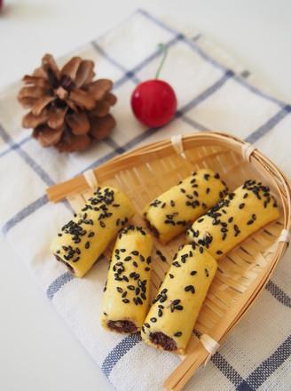 甜蜜红豆酥的做法