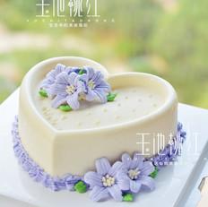 百合花慕斯蛋糕