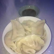 香菇猪肉大葱饺子