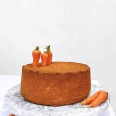 胡萝卜6寸加高戚风蛋糕