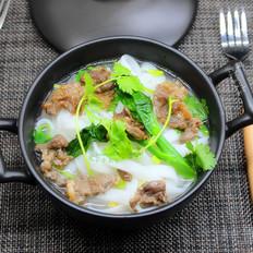 广州宴客餐,肉牛汤河粉