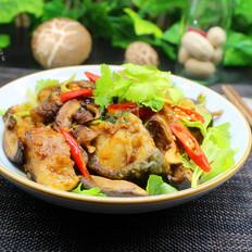 香菇炖红烧鱼