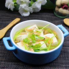 磷虾豆腐汤#晚餐#