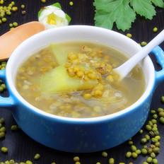 西瓜皮绿豆糖水#下午茶#