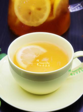 清香柠檬蜂蜜茶#下午茶#的做法
