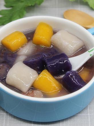 红豆沙芋圆#下午茶#的做法