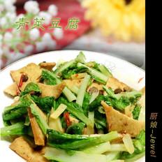 青菜豆腐【酱烧豆腐】
