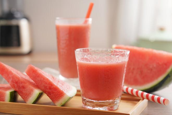 鲜榨西瓜汁【孔老师教做菜】成品图