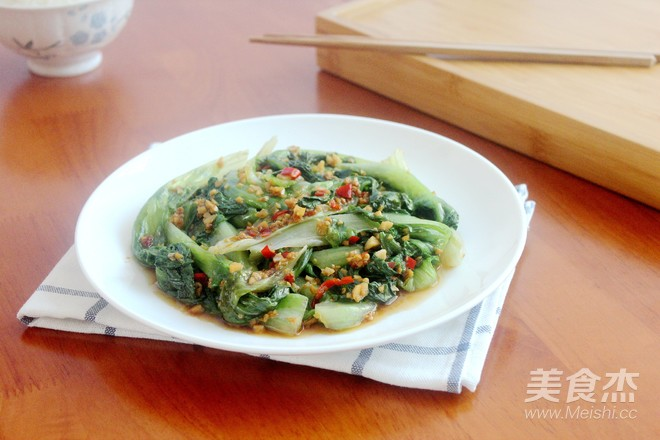 生菜凉拌蚝油白芝麻油图片