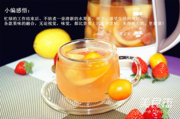 水果茶的做法【步骤图】_菜谱_美食杰