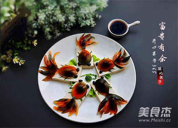 富贵有余皮蛋豆腐的做法【步骤图】_菜谱_美食杰