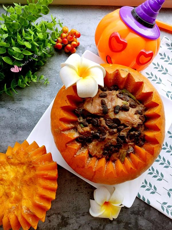 排骨盅豉香蒸季节菜谱的秋冬适合南瓜图片