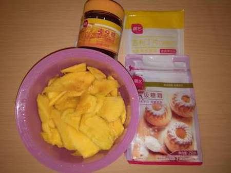 芒果软糖动物缺点的奶油图片