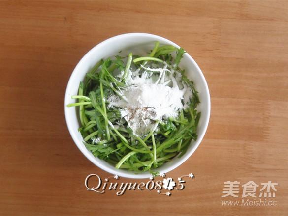 蒸茼蒿的做法 菜谱