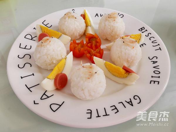 幼儿食谱#虾皮饭团