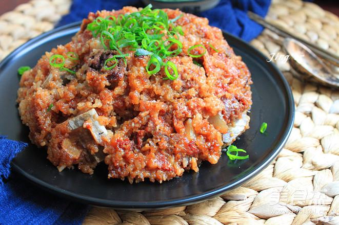吃肉必备菜谱粉蒸螃蟹红烧排骨温州做法图片