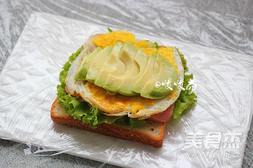 牛油果三明治的做法【步骤图】_菜谱_美食杰