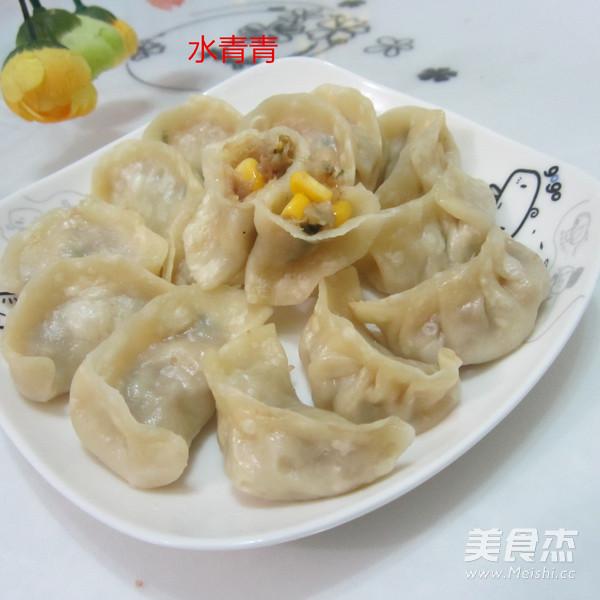 饺子猪肉做法的玉米韩国重庆年糕图片