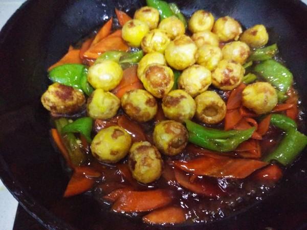 辣炒做法蛋的菜谱【凉水图】_步骤_鹌鹑杰梭子蟹是美食v做法多久图片