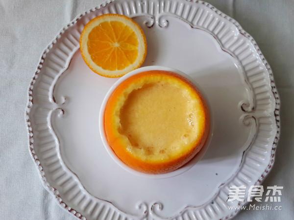 香橙炖蛋的做法【步骤图】_菜谱_美食杰