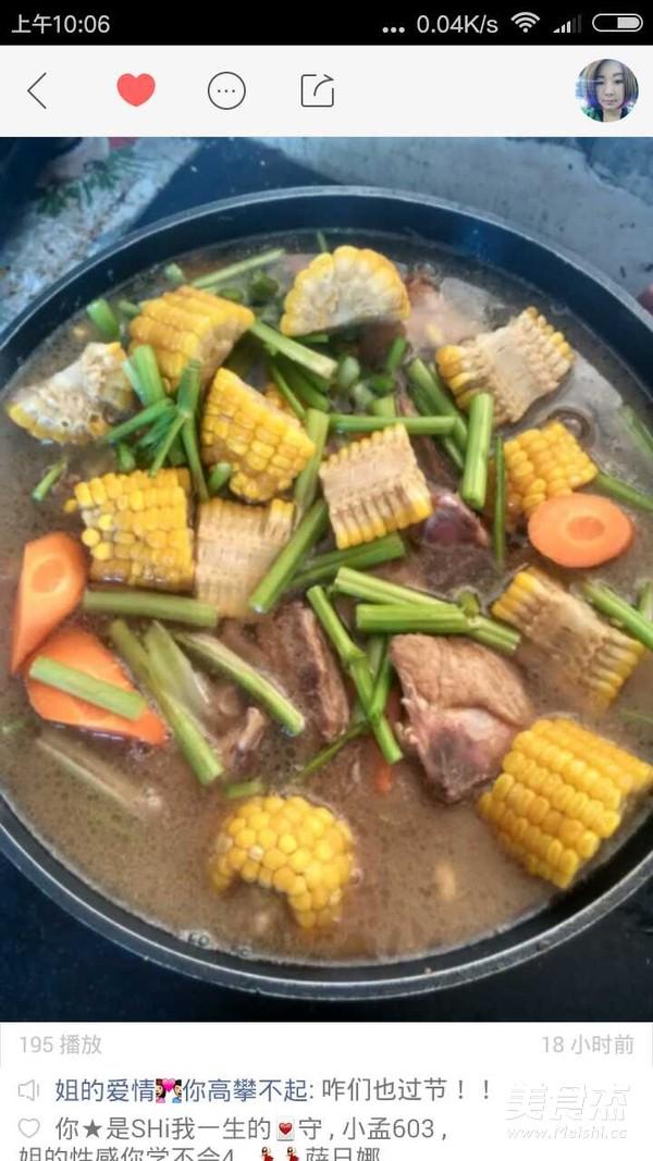 玉米做法黄豆汤的家常_排骨尾骨玉米尾骨汤的黄豆怎么做最快图片