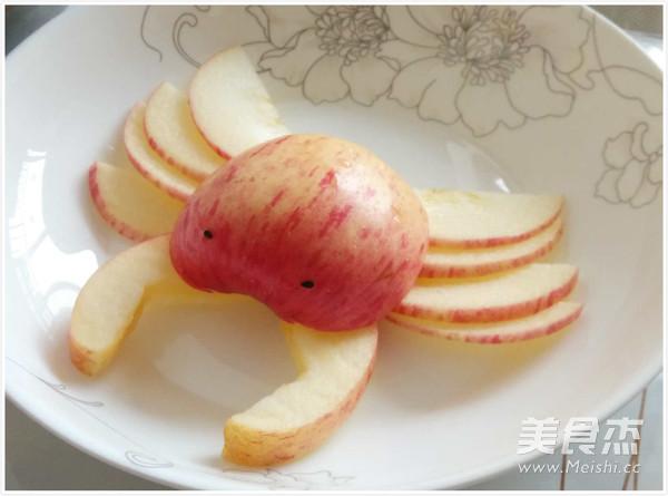 苹果螃蟹的做法【步骤图】_菜谱_美食杰