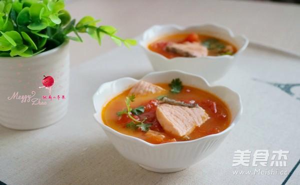 三文鱼番茄汤