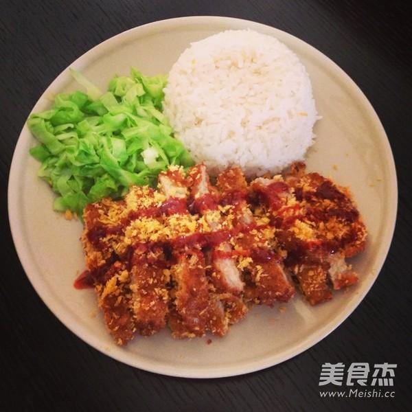 日式猪排饭的做法
