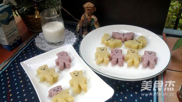 双色奶油土豆泥的做法【步骤图】_菜谱_美食杰