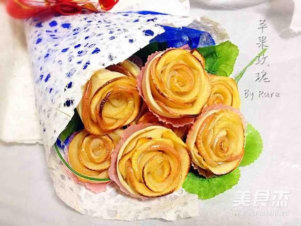苹果玫瑰花的做法【步骤图】_菜谱_美食杰