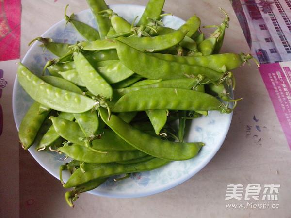 清炒豌豆片的做法【步骤图】_菜谱_美食杰