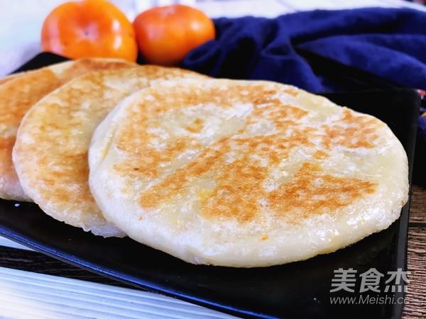 柿子糯米饼成品图