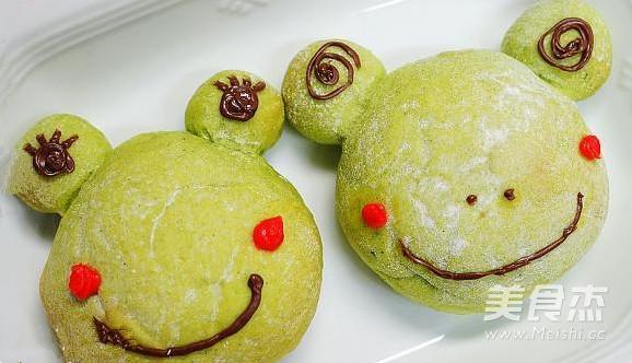 青蛙面包的做法【步骤图】_菜谱_美食杰