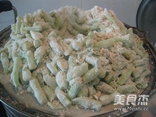 豆角蒸菜的做法 菜谱