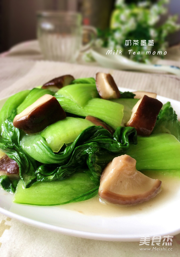 方法油菜水炒肉松晒香菇鱿鱼图片