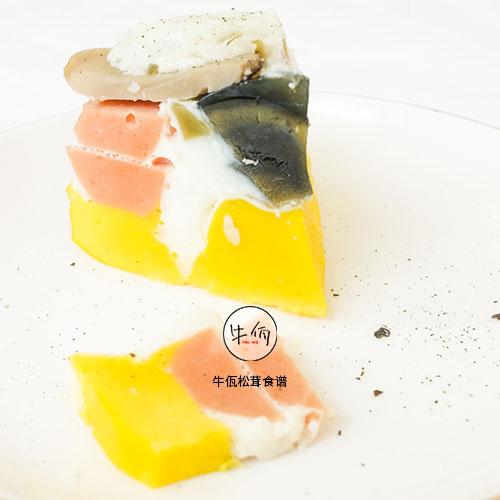 三蛋戏松茸 牛佤松茸食谱经常吃午餐肉罐头好不好图片
